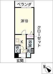 M.Stage藤ヶ丘[4階]の間取り