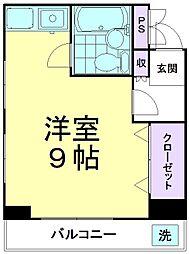 ハイネス久米川[201号室]の間取り