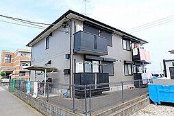 東京都立川市西砂町1丁目の賃貸アパートの外観