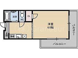 第2有保マンション[2階]の間取り