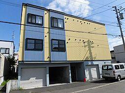 北海道札幌市白石区北郷二条3丁目の賃貸アパートの外観