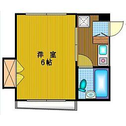 東京都杉並区西荻北5丁目の賃貸マンションの間取り