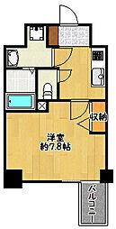 JR東海道・山陽本線 兵庫駅 徒歩3分の賃貸マンション 11階1Kの間取り