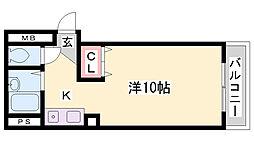 菅沢ビル[2階]の間取り