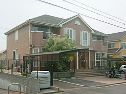 京都府相楽郡精華町桜が丘4丁目の賃貸アパートの外観