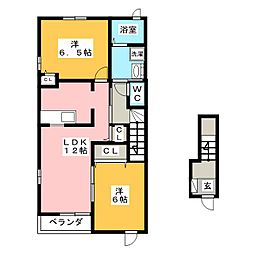 井野駅 5.9万円