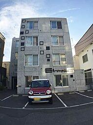 北海道札幌市豊平区水車町6の賃貸マンションの外観