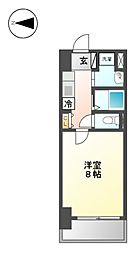 ルラシオン代官町[7階]の間取り