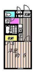 アムール小松[2階]の間取り