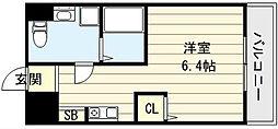 大阪府大阪市生野区舎利寺1丁目の賃貸マンションの間取り