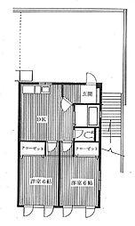 東西ビル[3階号室]の間取り