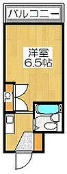 ソグノコート[1336号室]の間取り