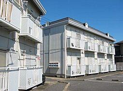 茨城県守谷市松ケ丘1丁目の賃貸アパートの外観