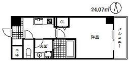 フレアコート甲南[5階]の間取り