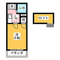 Livex赤見[1階]の間取り
