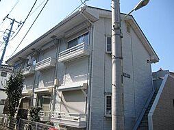 東京都昭島市玉川町1丁目の賃貸アパートの外観