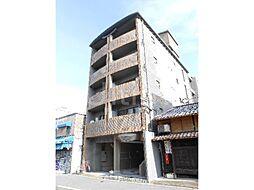 京都府京都市中京区九町目の賃貸マンションの外観