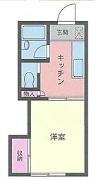 サンカーサ湘南台[2階]の間取り