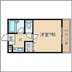 ソレイユ21[2階]の間取り
