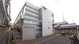 大阪府東大阪市玉串元町2の賃貸アパートの外観