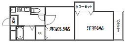 FINESS 4[5階]の間取り