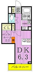Grund View court 柏〜グランビューコートカシ[1階]の間取り