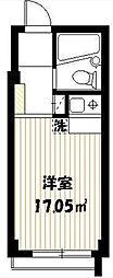 メゾンTOWA[2階]の間取り