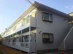 神奈川県横浜市港北区富士塚の賃貸アパートの外観