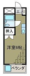 神奈川県川崎市麻生区岡上の賃貸マンションの間取り