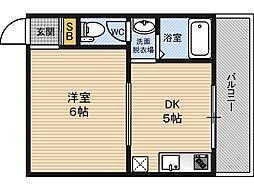 シャルル宮原[7階]の間取り