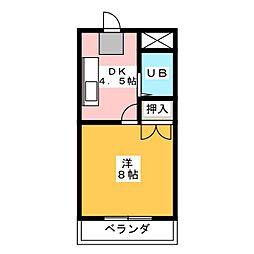 メゾンTERADA[2階]の間取り