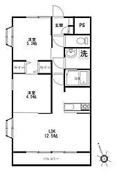 石原第7ビル[1階]の間取り