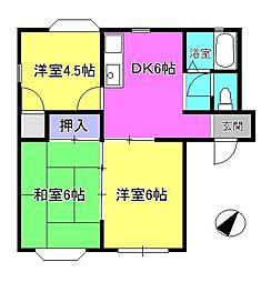 トレンディハウス[1階]の間取り