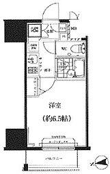 スパシエ八王子クレストタワー[1104号室]の間取り