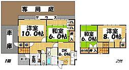 [一戸建] 福岡県春日市紅葉ヶ丘西6丁目 の賃貸【/】の間取り