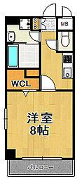 TOCCHI[907号室]の間取り