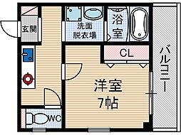 グランビスタ2[2階]の間取り