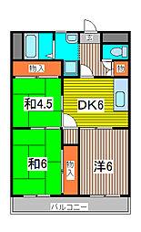 立川ビル[202号室]の間取り