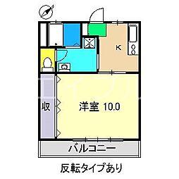 アバイド[2階]の間取り
