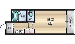 グレイスハイツ北大阪[3階]の間取り