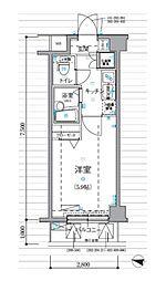 リヴシティ新宿壱番館[1階]の間取り