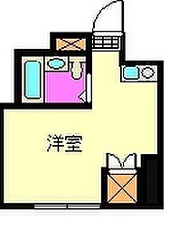 静岡県静岡市清水区有東坂1丁目の賃貸アパートの間取り