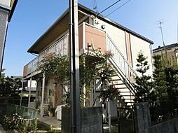 森田ハイツA棟[2階]の外観