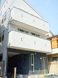 東京都目黒区中目黒1丁目の賃貸アパートの外観