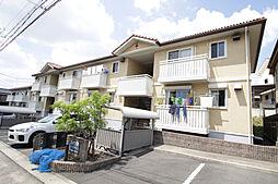 愛知県名古屋市緑区万場山1丁目の賃貸アパートの外観