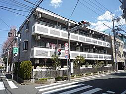 東京都目黒区五本木1丁目の賃貸マンションの外観
