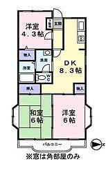 第2TOWAヒルズ[1階]の間取り
