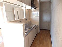 サニーパレス・Kの対面式キッチン