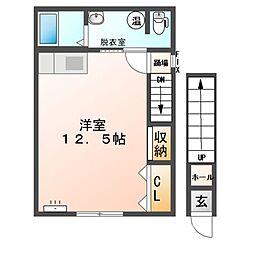 M108[2階]の間取り