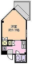 ウィン南行徳[105号室]の間取り